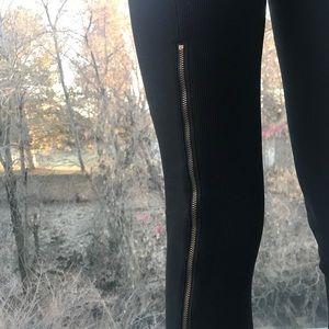 BCBG Full zip leggings. Rare!